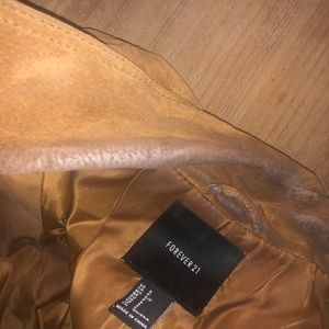 Forever 21 Jackets & Coats - Forever 21 Suede Jacket - Size Small